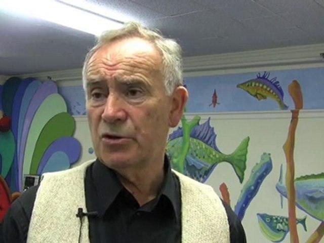 Irish Storyteller Batt Burns Visits West Hartford