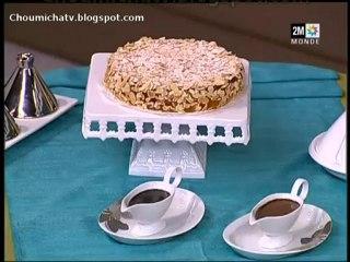 Recette Gâteau Amandine au chocolat