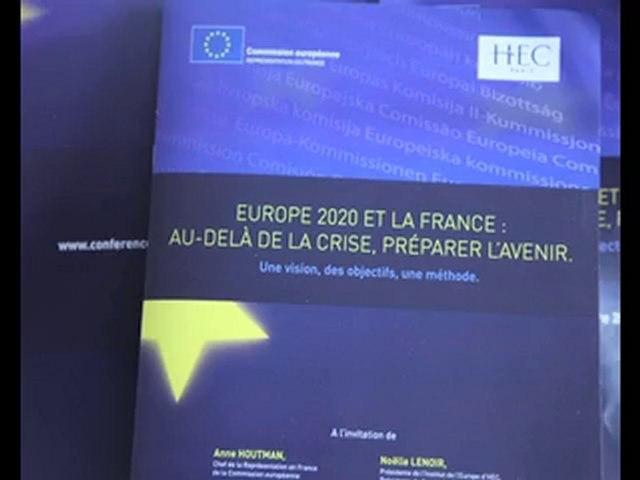 Conférence Europe 2020 et la France