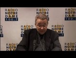 Entretien du Cardinal - Radio Notre Dame - 09/10/2010