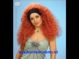 halloween constume irish dance wigs