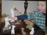 Nativity Set ; Willow Tree Figurines