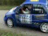 Pascal excoffier au rallye des bauges 2010