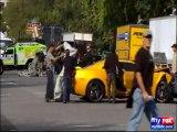 Un accident de voitures sur le tournage de Transformers 3