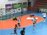 Le HBC Nîmes s'impose contre Arvor (Handball D1)
