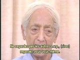 Krishnamurti- Se libérer du conditionnement 4.4