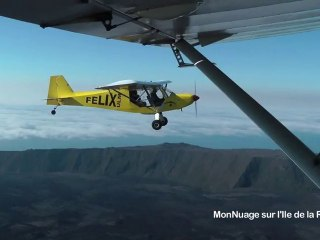 Tourisme : la Réunion vue du ciel