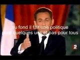Lapsus révélateur Sarkozy