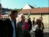 Manif 10 oct 2010 - Evreux Pcf, Front de Gauche