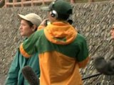 Activists Protest Dolphin Hunts in Taiji, Japan