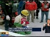 Chili : le doyen des mineurs est sorti