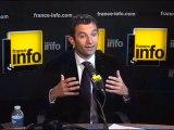 Benoit Hamon, franceinfo, 14 10 2010