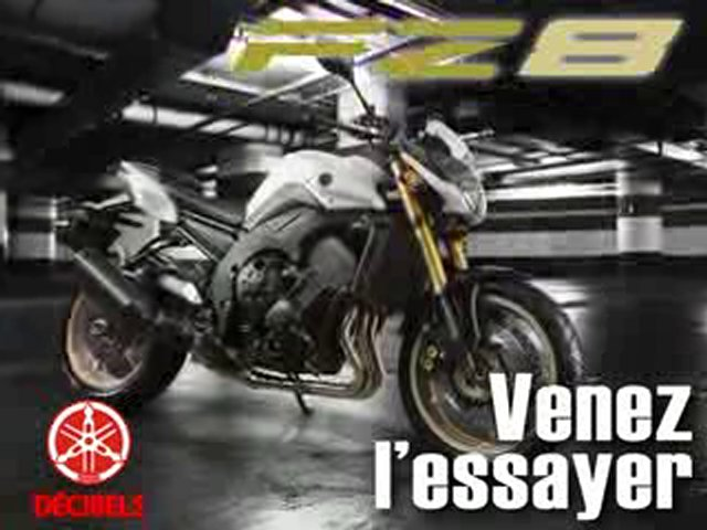 Yamaha FZ8 – DECIBELS