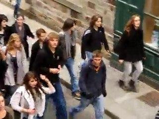 Manif des lycéens à Vitré