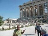 Vue panoramique  - Acropole et Parthénon -
