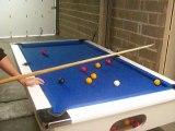 Une superbe casse en 8 pool sur un billard pub CFBL