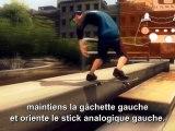 Shaun White Skateboard - Les contrôles sur PS3 et Xbox 360