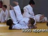 2010 10 13 Judo apprentissage des chutes cours débutants