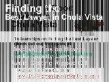 DUI Lawyer Chula Vista, San Diego DUI Attorney