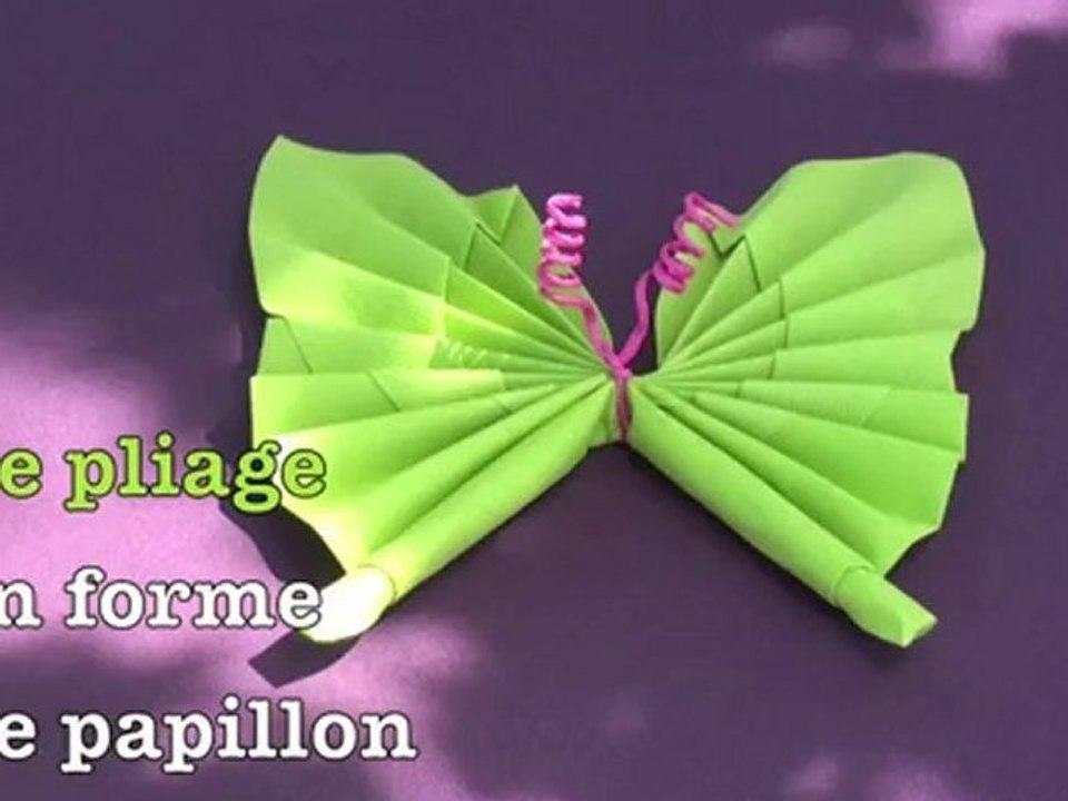 Pliage De Serviettes Papillon