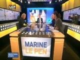 Marine Le Pen contre la loi Pompidou-Giscard de 1973