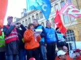 Discours intersyndical Manifestation 19/10/10 à Metz