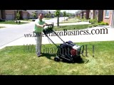 Can I rent a lawn aerator when starting an aeration busines