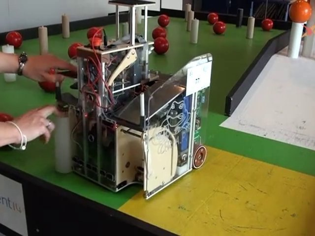 Feed The World : coupe de France de robotique 2010