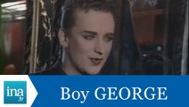 Boy George répond à Boy George - Archive INA