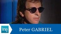 Peter Gabriel répond à Peter Gabriel - Archive INA