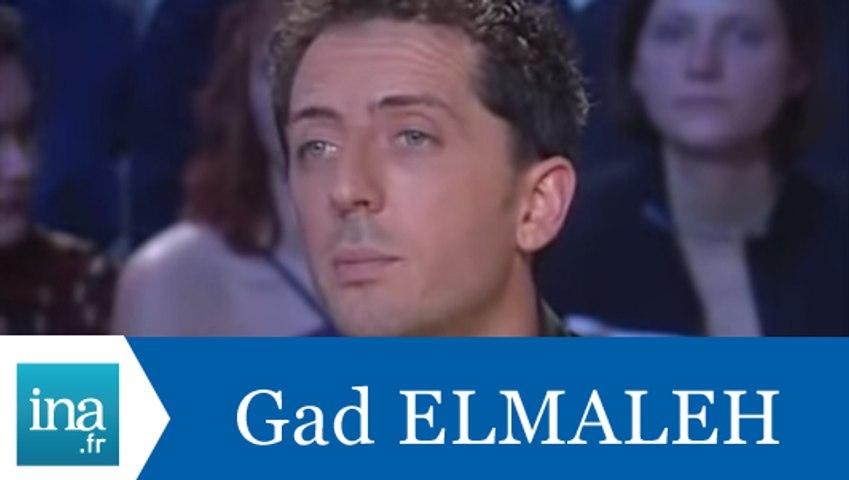 Les cauchemars de Gad Elmaleh - Archive INA
