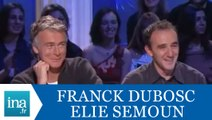 """Elie Semoun et Franck Dubosc """"Les ventriloques"""" - Archive INA"""