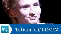 """La question qui tue Tatiana Golovin """"Le taxi"""" - Archive INA"""
