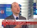 Pierre Moscovici invité de Christophe Barbier [LCI - 18 oct]