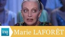 """Marie Laforêt """"chanté pas chanté"""" - Archive INA"""
