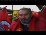 Grève des Cheminots CGSP du Hainaut occidental