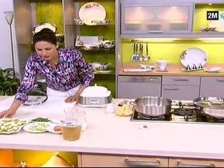 Recettes Salades et soupe de chou fleur et courgette