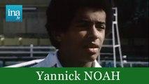 Patrick Noah ou Yannick Noah portrait 1975 - Archive vidéo INA
