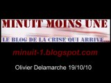 Olivier Delamarche BFM radio du 19 octobre 2010 - 12/10/10