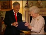 Gift From Rescued Chile Miner Presented To British Queen