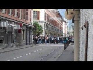 Affrontements entre jeunes et forces de l'ordre à Chambéry