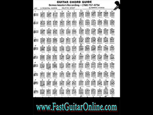guitar lessons with tabs fast