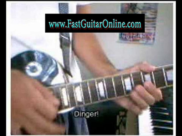 guitar shredding tabs