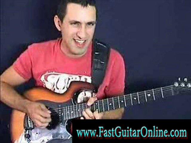 shred guitar tab