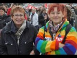 19 octobre 2010 journée d'action sur Cherbourg