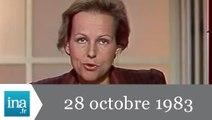 20h Antenne 2 du 28 octobre 1983 - 56 soldats français tués à Beyrouth - Archive INA