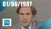 20h Antenne 2 du 1er juin 1987 - Assassinat de Rachid Karamé | Archive INA