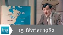 20h Antenne 2 du 15 février 1982 - Naufrage d'une plateforme pétrolière - Archive INA