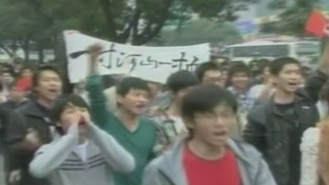 Students Lead Anti-Japanese Protests—CCP Involvement Suspect