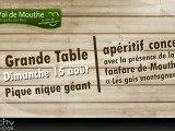 Val de Mouthe Chapelle des bois Grande-table